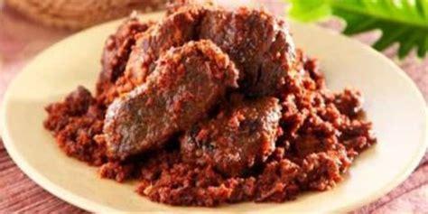 resep rendang daging padang sederhana  enak