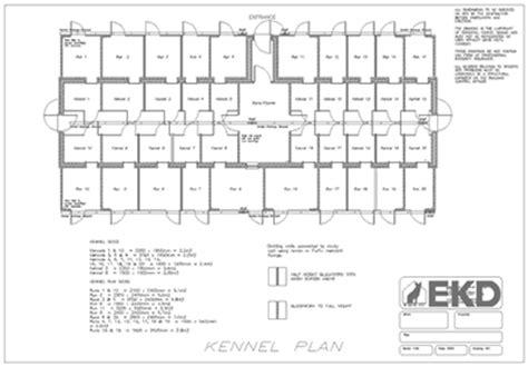 kennel floor plans 20 kennels blueprints