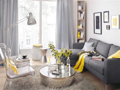 Living Room Design Grey Yellow Yellow And Grey Living Room Design