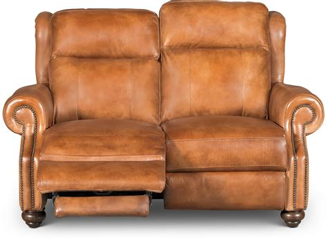 Light Brown Leather Recliner by Whiskey Light Brown Leather Power Reclining Sofa Loveseat Hancock Rc Willey Furniture Store