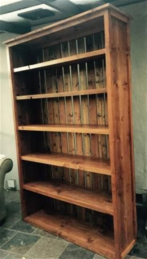 rustic kentwood bookshelf do it yourself home projects