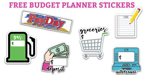 Budget Planner Stickers
