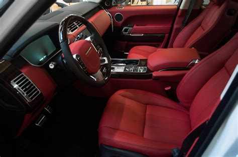 land rover autobiography red interior oneighty nyc 187 vertini dynasty