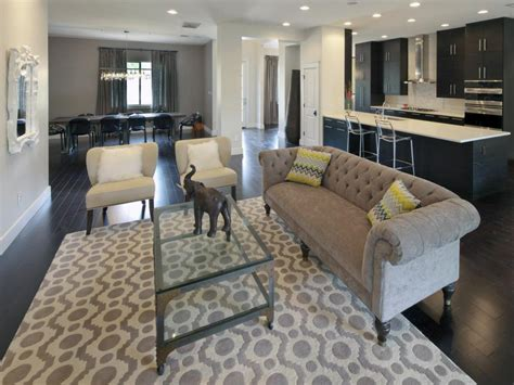 Interior Decorating Tips For Small Homes by Gray Great Room Jill May Hgtv