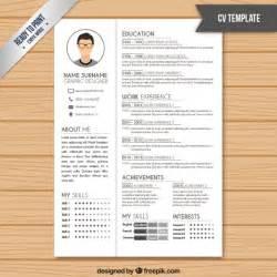resume template color resume template in white color vector premium