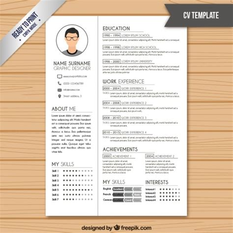 Resume Template Color by Contact Vectors Photos And Psd Files Free