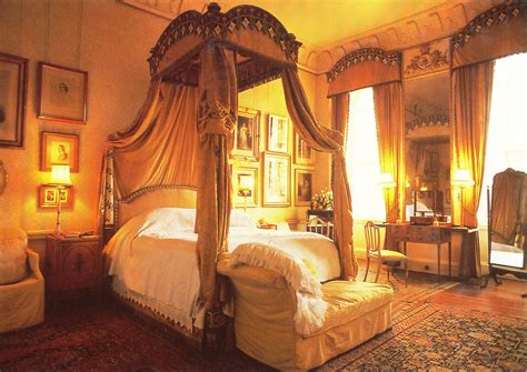 medieval bedroom castle howard bedroom yorkshire england uk medieval