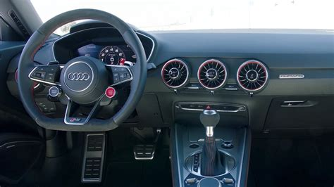 Audi Tt Interior by 2018 Audi Tt Rs Interior Youtube