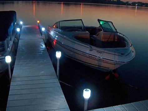 solar dock post lights solar dock post lites