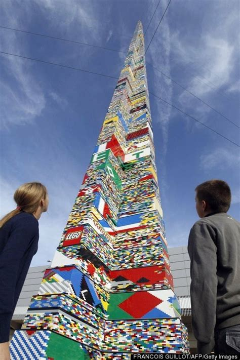 la torre di lego pi 249 alta mondo