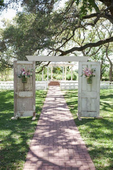 Garden Arch Made From Doors 35 Totally Brilliant Garden Wedding Decoration Ideas