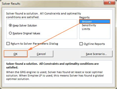 excel solver tutorial with step by step examples
