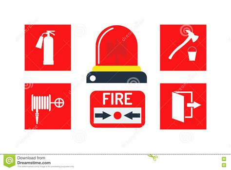 Ring The Alarm Is Brangelina In Danger by Alarm Icons Vector Illustration Stock Vector Image