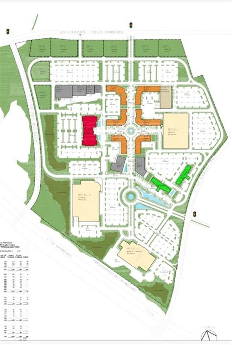 Garden State Mall Layout Zoning Board Approves For Outdoor Shopping Mall