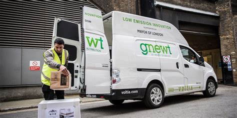 electric delivery vehicle trial london city hall