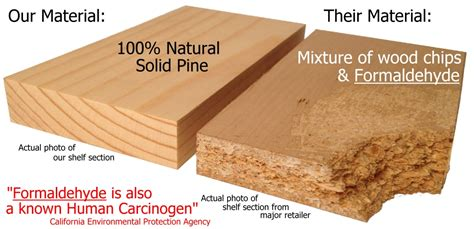 Non Toxic Solid Wood No Particle Board