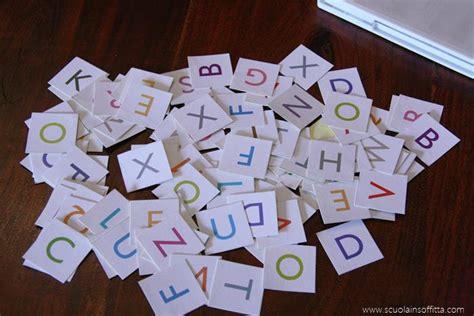 giochi con lettere primi giochi di lettura il cofanetto delle lettere