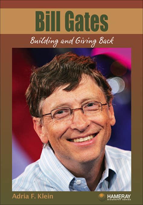 Bill Gates Foundation Biography | hameray publishing teaching materials for guided reading