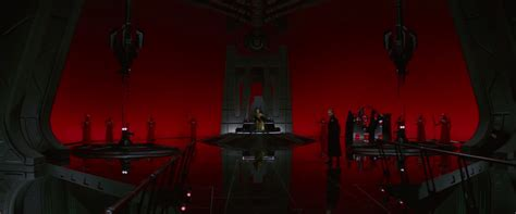 wars the throne room wars why were the throne room windows covered with a curtain science fiction