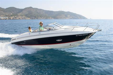 bayliner brunswick boat group sea trial bayliner 742 cuddy magazine