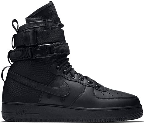 nike sf air force  high triple black stockx news