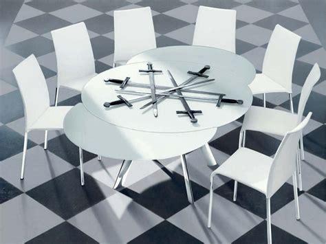 tavolo di cristallo allungabile tavolo allungabile in cristallo giro tavolo rotondo