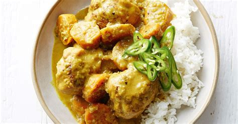 comfort chicken curry