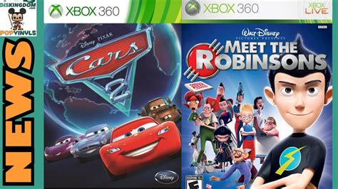 Meet The Robinsons Xbox 360 Original cars 2 meet the robinsons come to the xbox one