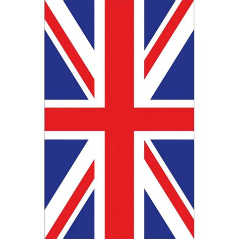 Auto Sticker Union Jack by Stickers Autocollant Drapeau Union Jack 100x160cm Art