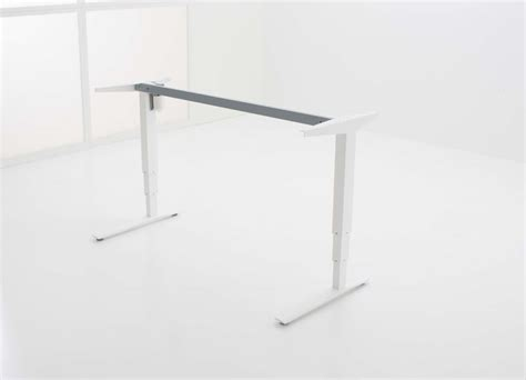 sit stand desk frame conset 501 43 standing desk corner frame only