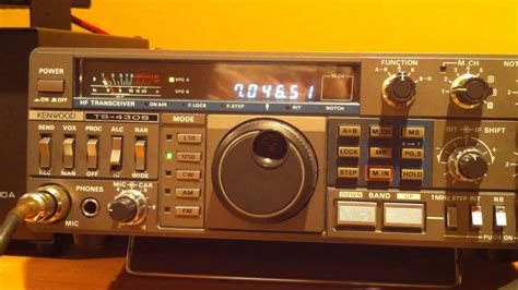 Kenwood Ts430s kenwood ts 430s hf transceiver with intermittent low
