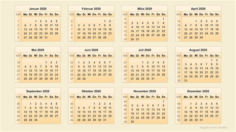 kalender  kalenderwochen  youtube