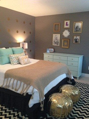 grey and mint bedroom mint gold and grey bedroom bedrooms pinterest