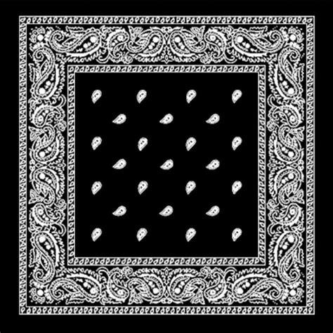 pattern original meaning black paisley bandana bandanna head band hair tie band