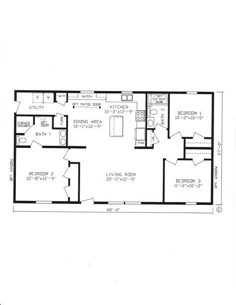Modular Floor Plan by 3 Bedroom Modular Home Floor Plans 5 Bedroom 3 Bath Mobile