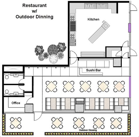free restaurant floor plan restaurant design software quickly design restauarants