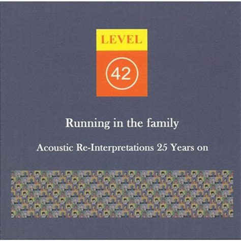 running in the family books running in the family acoustic re interpretations 25