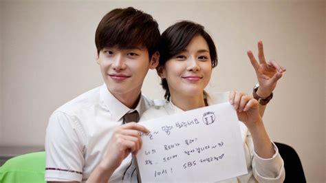 film drama terbaru lee jong suk lee bo young lee jong suk chosen by pds as having the