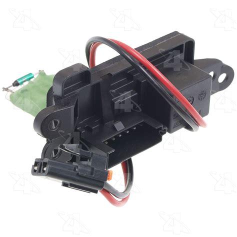 2005 gmc envoy blower motor resistor autopartskart
