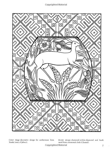 Mexican Folk Art Coloring Pages Chuckbutt Com Folk Coloring Pages