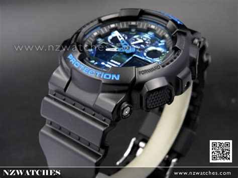 Sale Casio G Shock Blue Black buy casio g shock matte black with blue limited sport