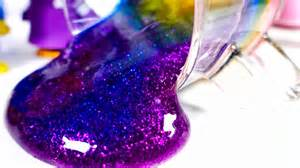 color slime diy how to make cup colors glitter slime learn