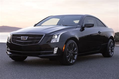 black cadillac 2017 cadillac ats coupe updates changes gm authority