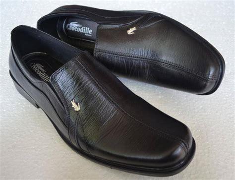 Sandal Pria Crocodile Kulit Asli jual sepatu pantofel pria crocodile kulit asli murah berkualitas hitam a6 bakul sepatu kulit