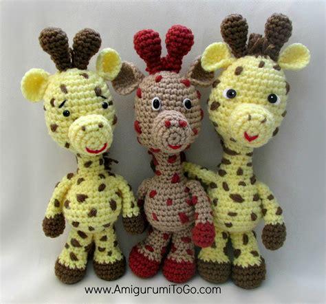 pattern for amigurumi giraffe little bigfoot giraffe amigurumi pattern amigurumi to go