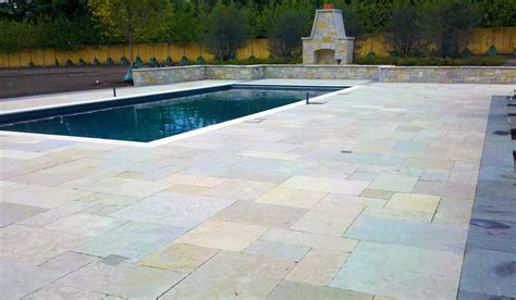 pool deck stone pool decks hirsch brick and stone