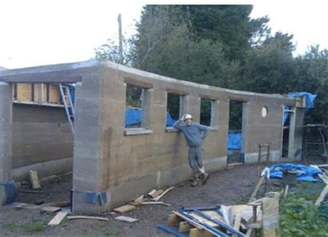 Rammed Earth Shed by Shedworking Rammed Earth Eco Shed