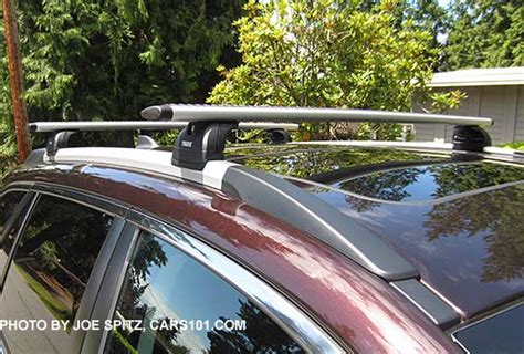 Low Profile Roof Rack Cross Bars by 2017 Outback Exterior Photographs