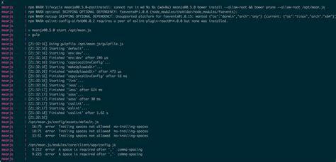 docker compose l stack docker compose isn t installing bower components inside