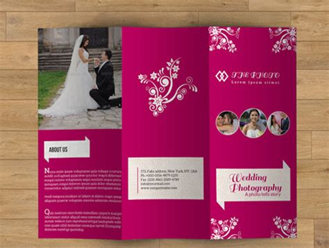 Wedding Event Management Brochure Pdf by 10 Beautiful Wedding Brochure Templates Psd Eps Ai